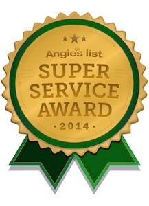 Angie's list award 2014