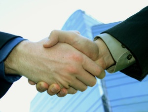 buy sell agreement hand shake