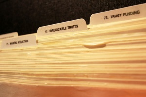 file with irrevocable trusts