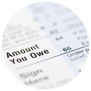 what do I owe on taxes